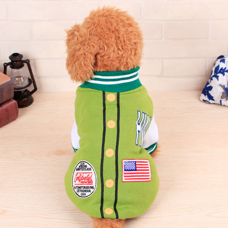 hot sale uniform design apparel for small dogs,winter pet dog clothes usa