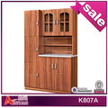 K807A antique wooden kitchen cabinet