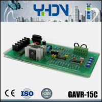 China Gold supplier ac generator high voltage AVR GAVR-15C for brushless generator