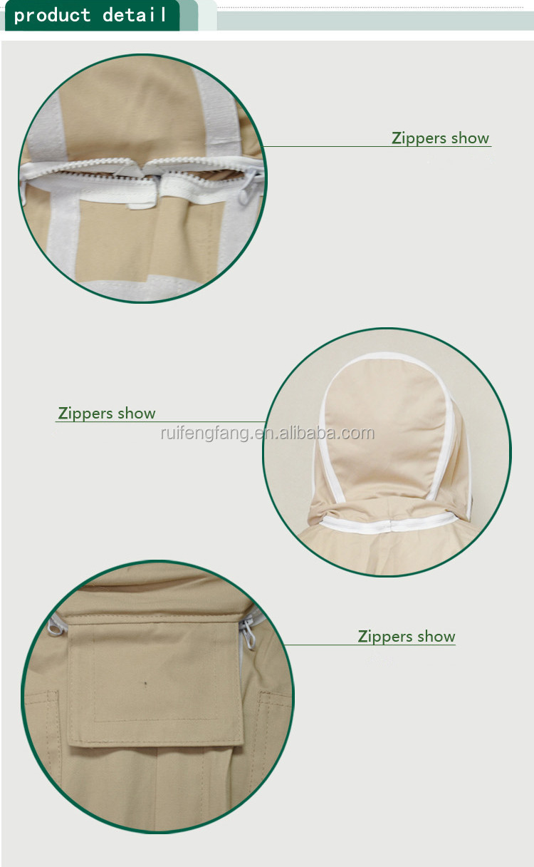 professional manufacturer offer high quality bee protection suit