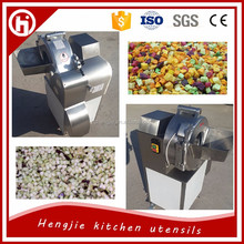 Vegetable cube cutting machine / industrial vegetable cutter
