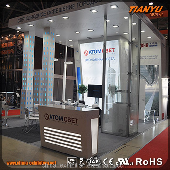 customized exhibition Pipe and drape system booth