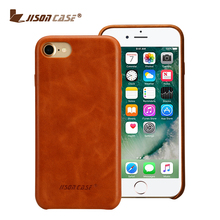 Hot sale genuine cow leather mobile phone case for iPhone 7
