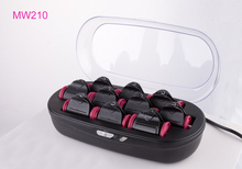 Repeated wave perm rods hot heating hair curlers magic hot water hair rollers