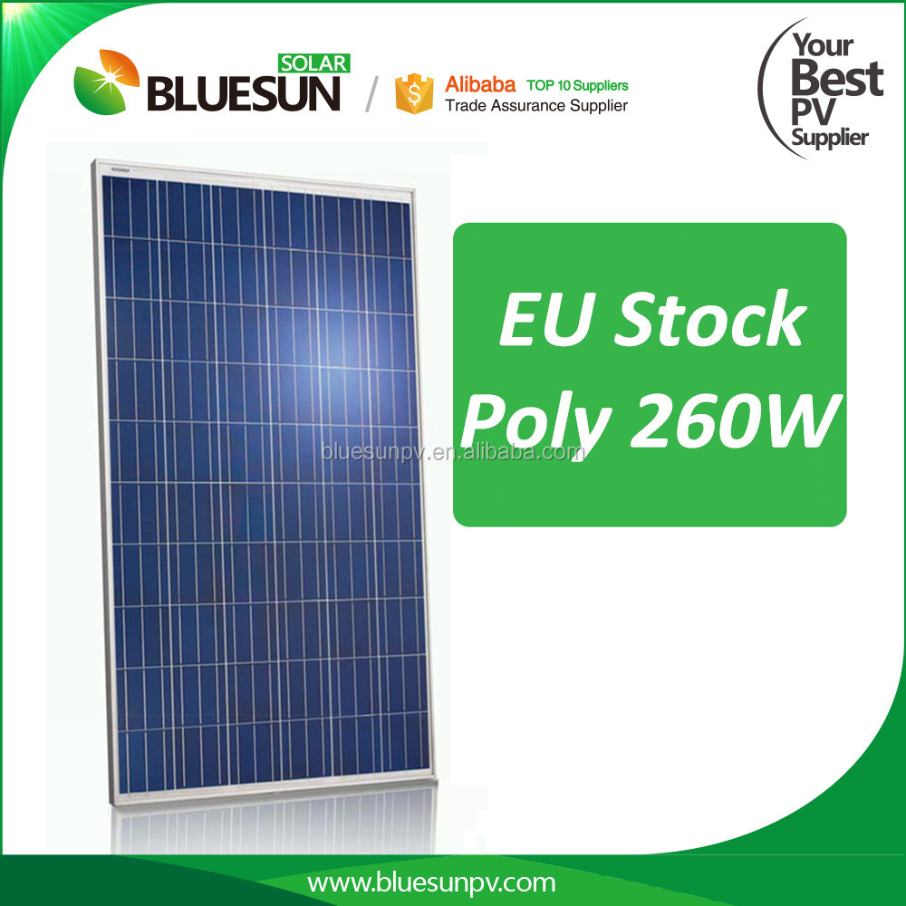 Free dumping 255w 260w polycrystalline german solar panel in Rotterdam warehouse