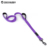 Custom Hands Free 2 Double Handles Neoprene Padded Dual-Layer Nylon Dog Leash