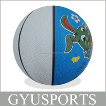 Promotional Cheap Rubber Basketball OEM Available Mini Size Balls for Children