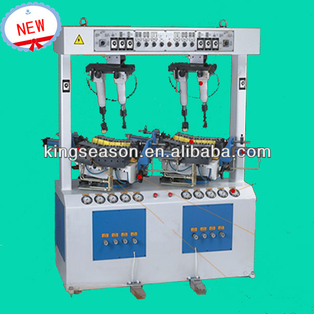 walled sole attaching machine
