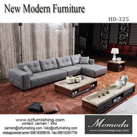 HD325 leather sofa / living room sofas ,The latest modern luxury leather sofa design,modern style leather sofa