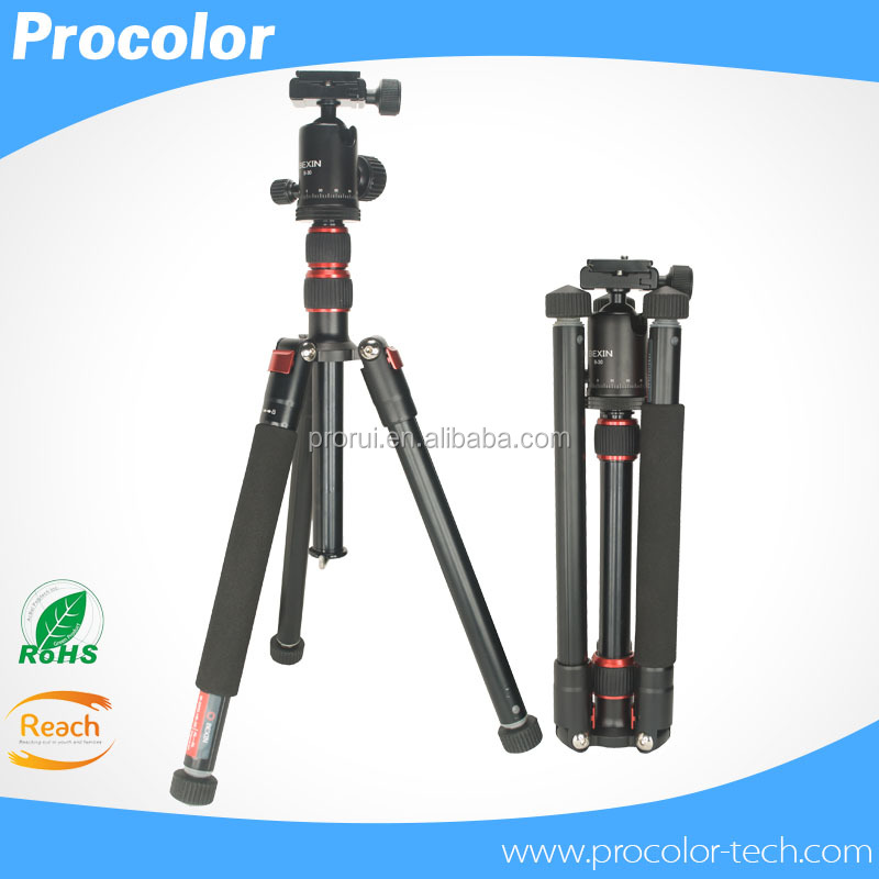 Professional Flexible Camera Tripod ,Compact Mini Tripod For Camera DV Fishing lamp