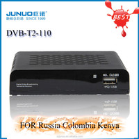 Crazy! Cheap!Hot! HD DVB-T2 free tv channel tv terrestrial receiver popular tv broadcast equipment mpeg4 usb2.0 high quality