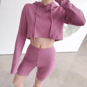 KEYIDI OEM pants casual sports suit hooded sweatshirt