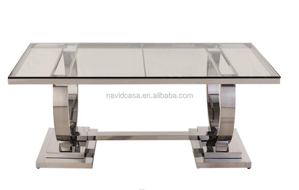 2015 투명 유리 식탁 현대적인 디자인-테이블을 다이닝 -상품 ID ...