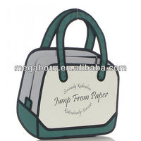 2D Cartoon Yura Flat Bag