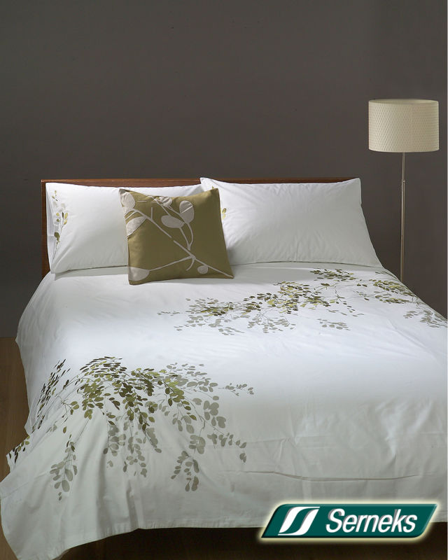 "SERNEKS ""EMBRODED 01 %100 COTTON DUVET"""
