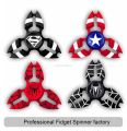 Aluminum Hand Spinner Tri Fidget Ceramic Bearing Desk Focus Toy EDC Finger Gyro
