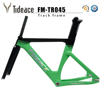 Tracing bicycle frame hot selling T1100 carbon fiber road cycling 700C fixed Gear with fork, seatpost