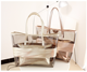 Summer new style female tote bag PVC handbag fashionable transparent beach bag shoulder bag