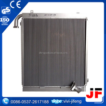 Hydraulic oil cooler for excavator , Excavator radiator for pc220-8 pc400-7