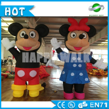 Hot selling advertising Mickey Mouse inflatable cartoon,movie inflatable Disney cartoon characters for sale