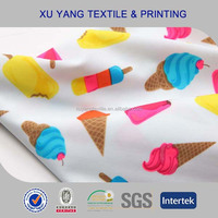 Printed Swimwear lingerie Knitting stretch Nylon spandex Fabric
