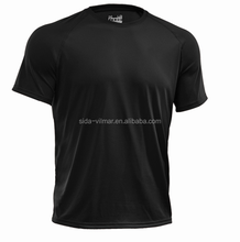 Fashion men custom print cotton sport high quality plain t-shirt
