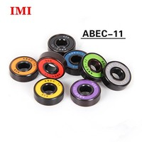 42-0011 abec-11 oil color custom printed 608 skates skateboard bearings
