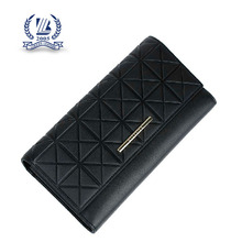2016 fashion black leather lady purse for sale