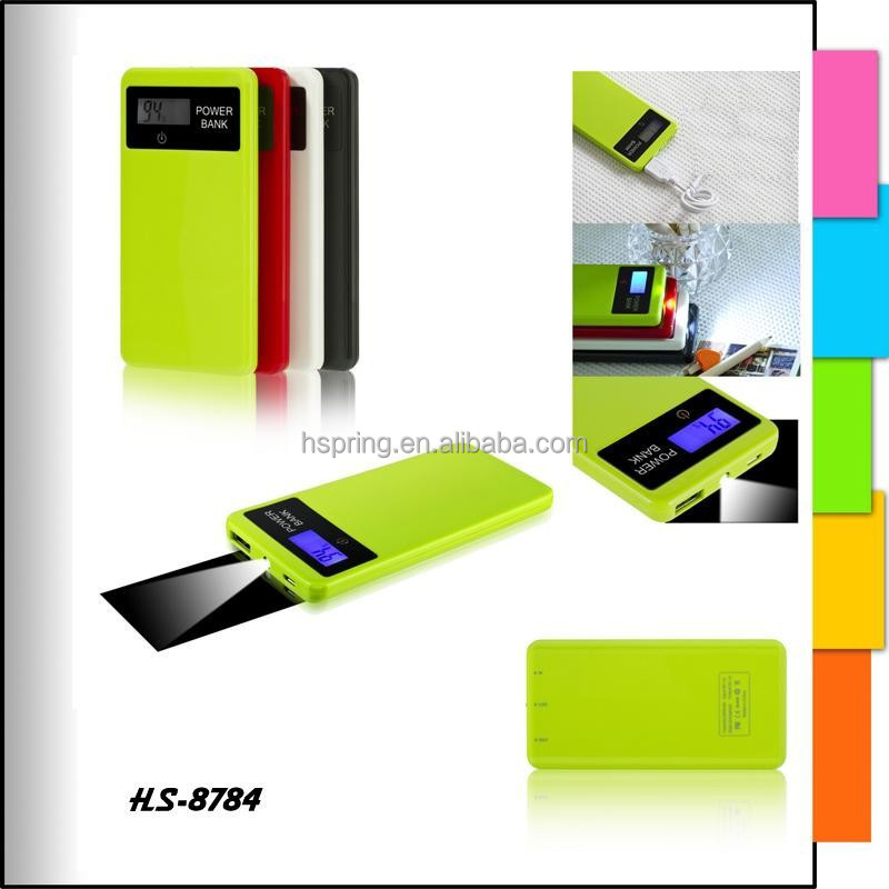 Portable Power Bank with LED Reading Light