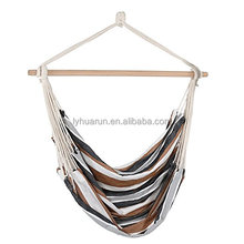 HR Outdoor/Indoor Hammock Swing Chairs With Cushions