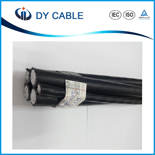 Factory directly sale 2/0AWG Quadplex Aerial Bundled Cable ABC Cable
