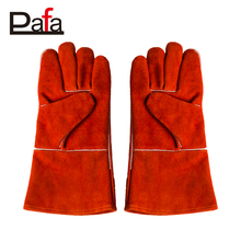 High quality long welding leather heavy duty gloves