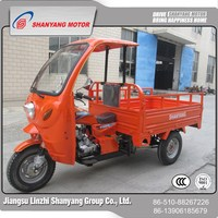 Driver cabin new model three wheel motorcycle