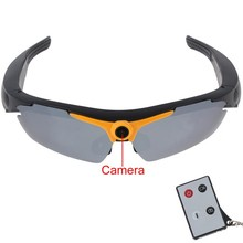 New Product 1280x720P HD Video Sunglasse Video Camera Digital Photo Camera with Remote Control