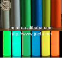 glow in the dark PVC Self-adhesive film/luminous PVC Vinyl/photoluminescent film