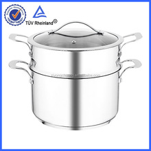 304# material rice cooker large stainless steel stock pots