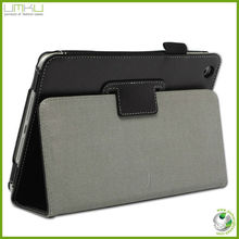design leather stand tablet pc case for 7 inch