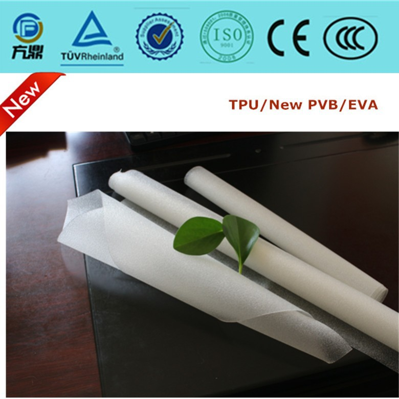 micrometer tpu film for architecture laminated glass