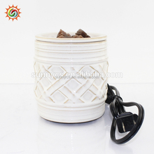 Electrical oil burner ceramic scented wax melts wax warmer wholesale tart warmers for home decor