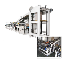 Automatic Flute Corrugated Paper Cold Laminating Machine