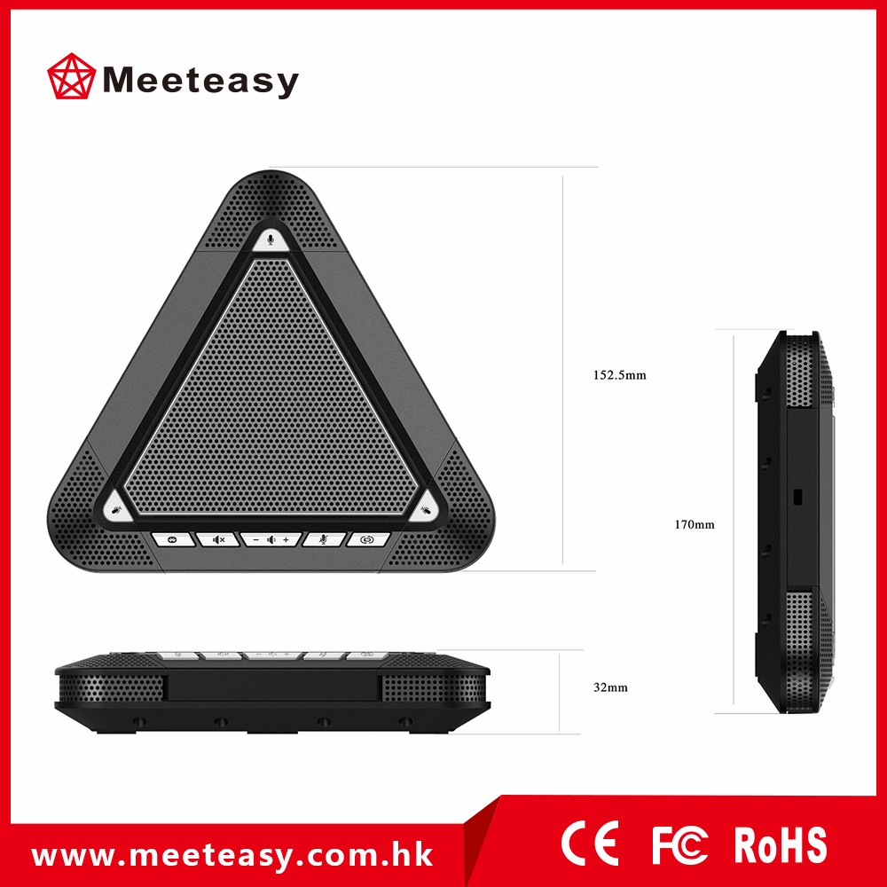 Meeteasy MVOICE 3000-B video conference mic and speaker for video /audio conferencing solution