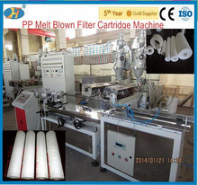 Supply full auto PP melt blown/spun filter machine for Water Purify