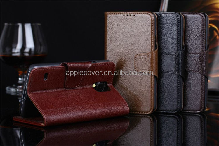 Superior Real Leather Housing for samsung galaxy s5 clone