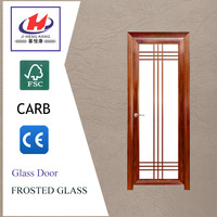 JHK-G01 One Glass Panel Price Toilet Glass Shower Door With Competitive Price