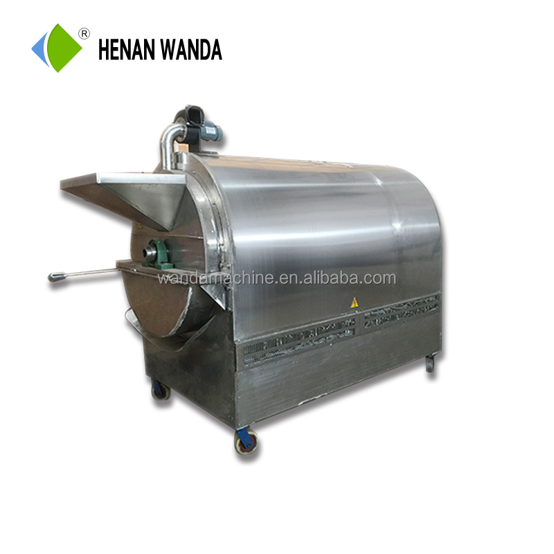 Wanda hot sale sesame roaster machine/cocoa bean roaster/nut roaster machine