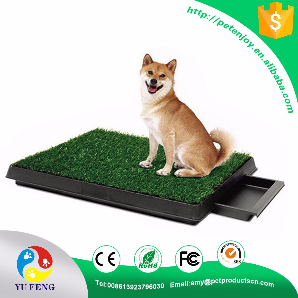 indoor high quality CE / RoHS / FCC green non-toxic synthetic grass pet potty training