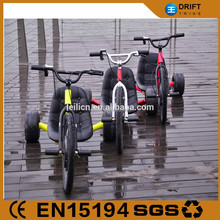 steel frame electric assist drift trike front loading cargo tricycle made in china