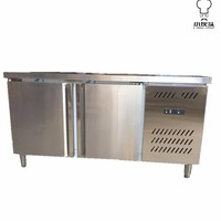 Refrigerator Worktable With Stainless Door 0