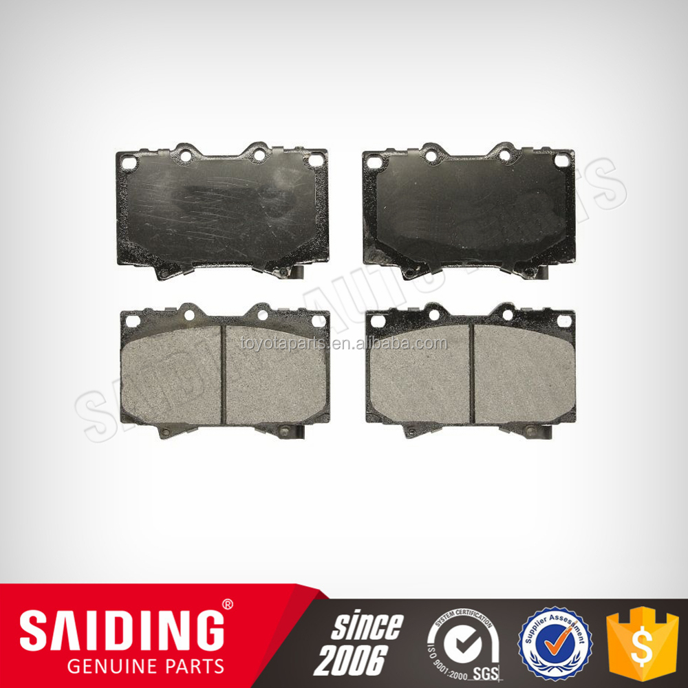 brake pad oem 04465-60250 for new toyota land cruiser hzj79 pickup 4x4 awd