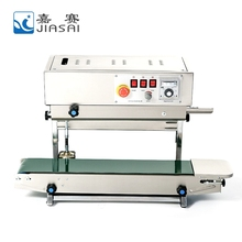 Best price semi-automatic sealing machine, continuous band sealer machine